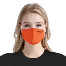 Load image into Gallery viewer, Solid Orange Matter Mask | Fashion Face Mask
