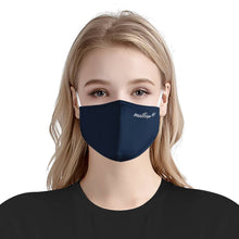 Load image into Gallery viewer, Solid Navy Matter Mask | Fashion Face Mask