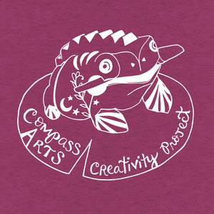 Compass Arts + Cindy LaColla - Kids - Raspberry