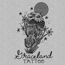 Load image into Gallery viewer, Adam Lauricella + Graceland Tattoo - Heather Grey Eagle - Holiday