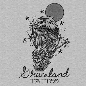 Adam Lauricella + Graceland Tattoo - Heather Grey Eagle - Holiday