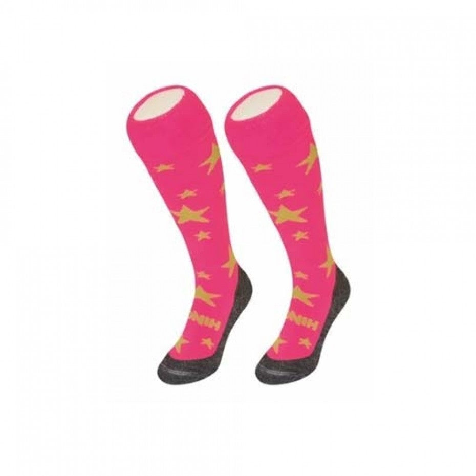 Fun Socks Stars (Pink/Yellow)