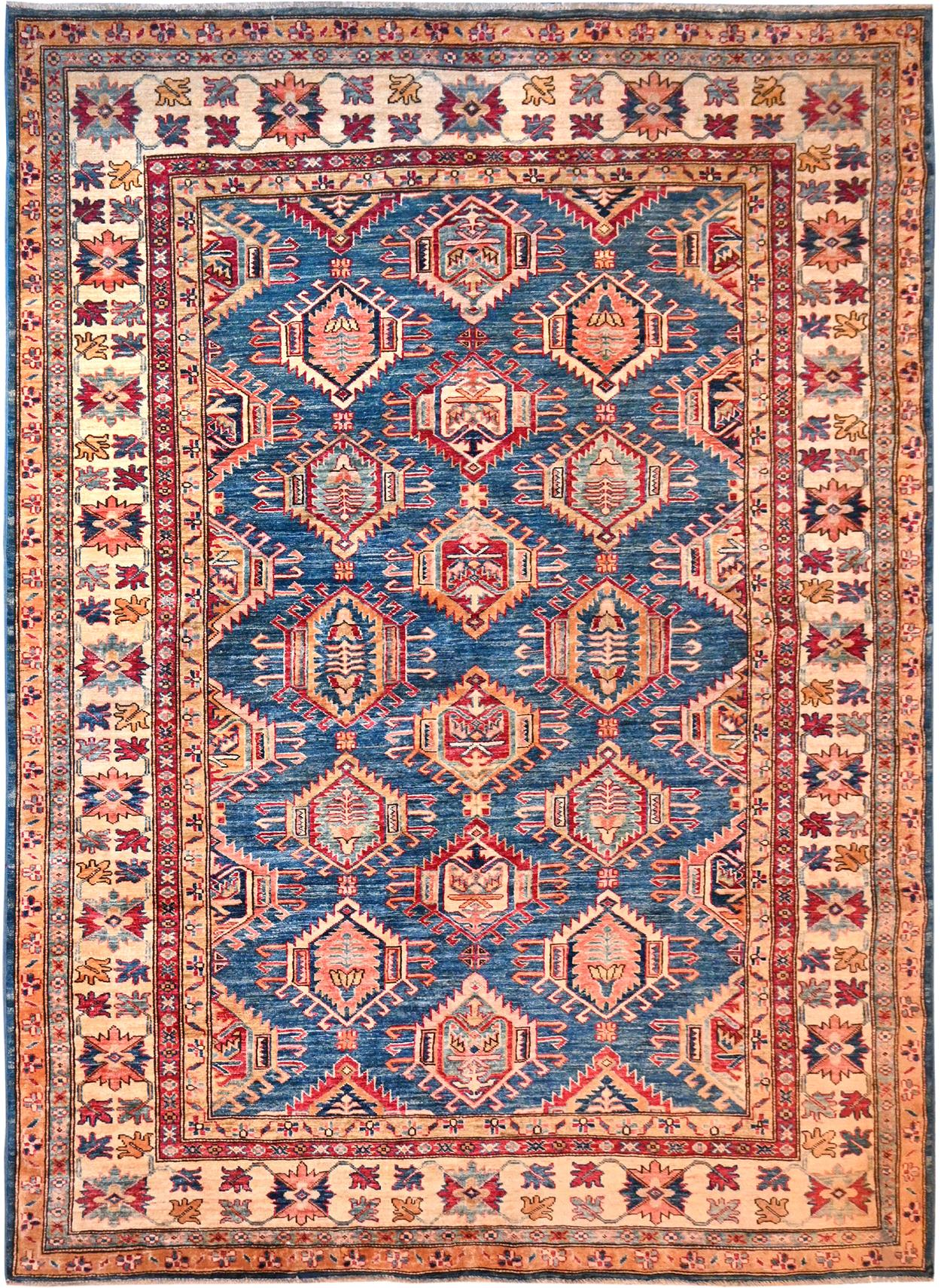 Kaoud Rugs Hand Knotted Light Blue Wool Area Rug Kaoud Rugs Carpet Rug Cleaning Repairs Sales