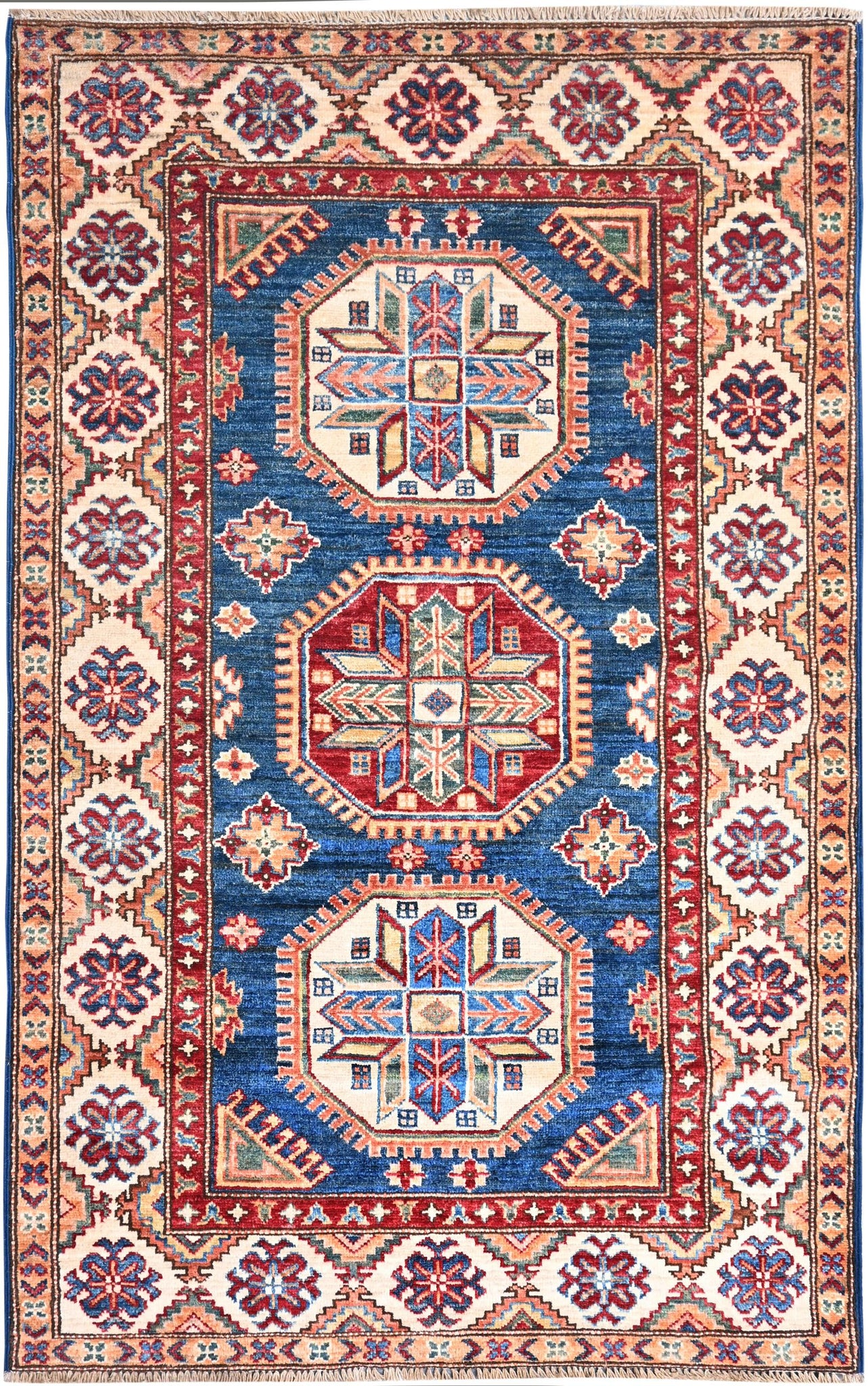 Kaoud Rugs Hand Knotted Navy Wool Area Rug Kaoud Rugs Carpet Rug Cleaning Repairs Sales