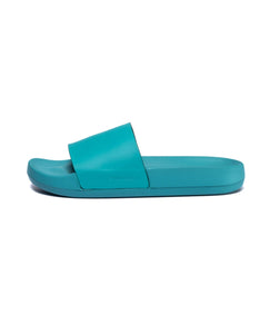 MEN'S KASHIBA-LUXE SLIDES - GREEN