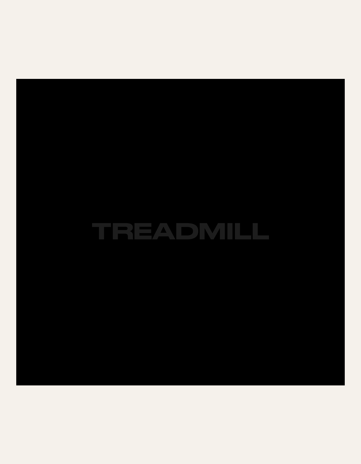 Treadmill Appointment