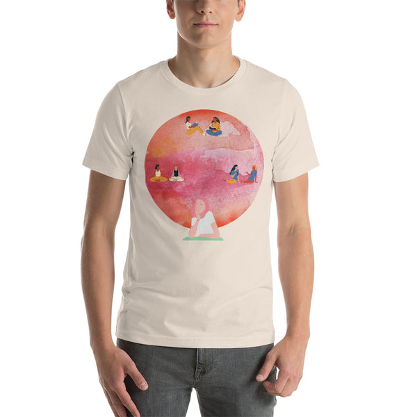 """Summer Vibes"" Short-Sleeve Unisex T-Shirt"