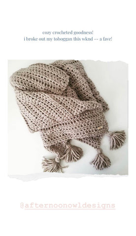 cozy crocheted goodness from afternoon owl