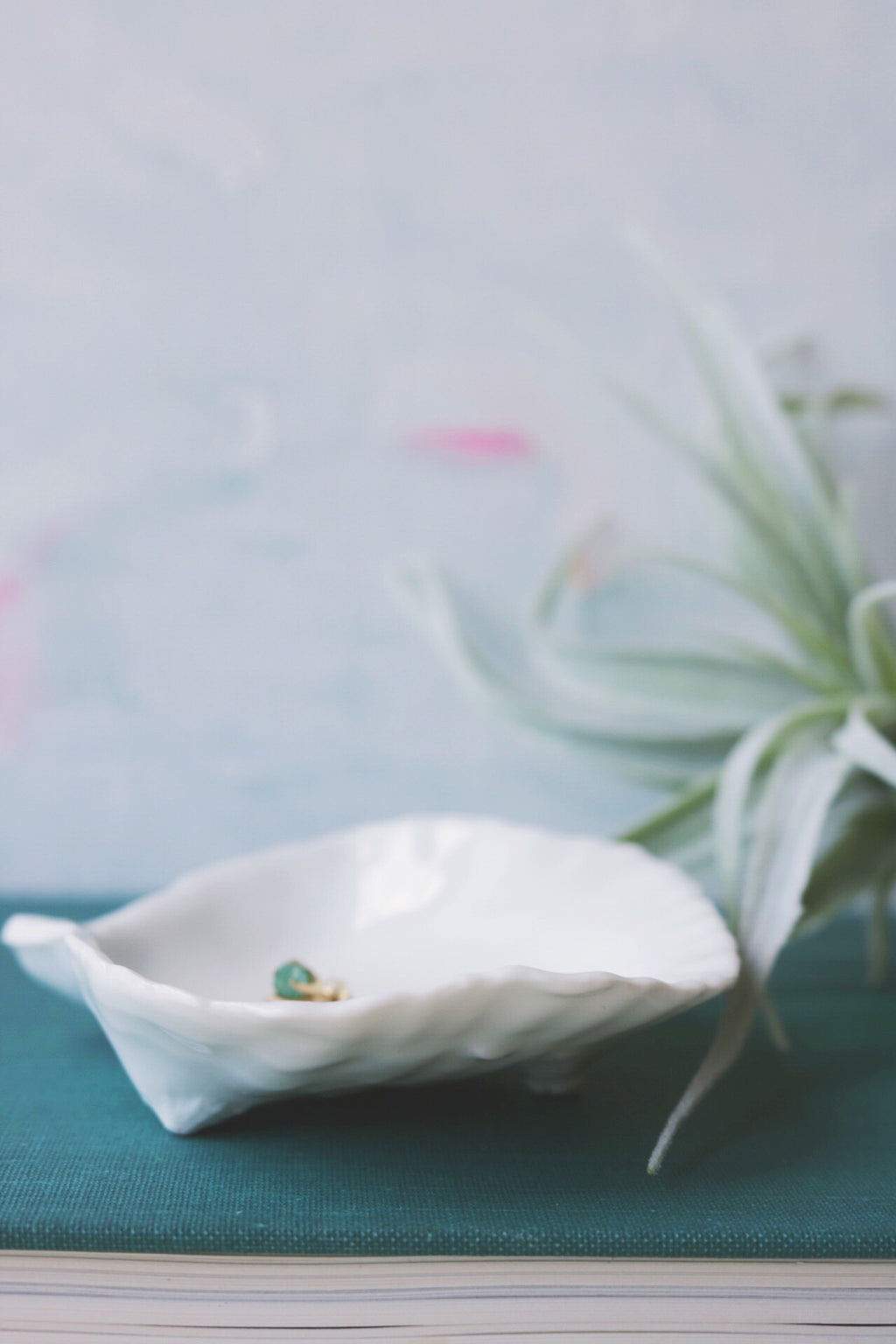 french porcelain oyster dish