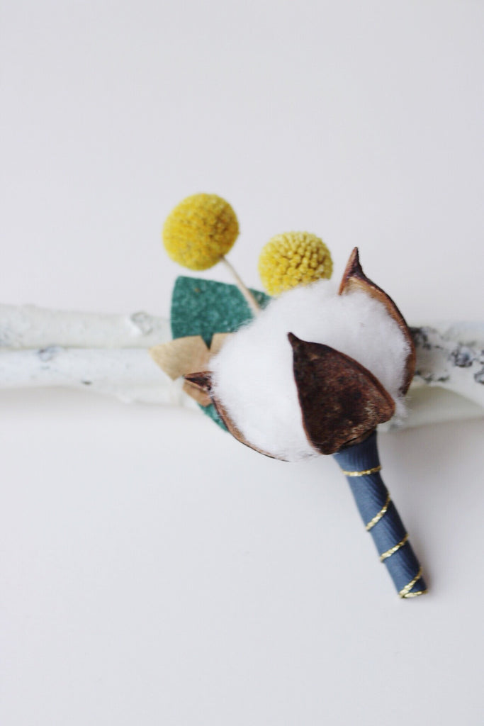cotton fest boutonniere