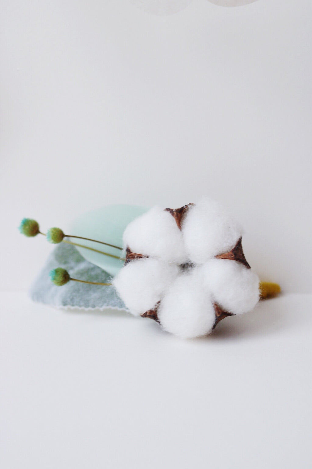 summer cotton boutonniere