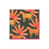 Panthera Cocktail Napkins, Fuschia