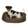 Quilted Dog Bed, Olive