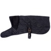 Quilted Dog Coat, Black