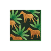 Panthera Cocktail Napkins, Green