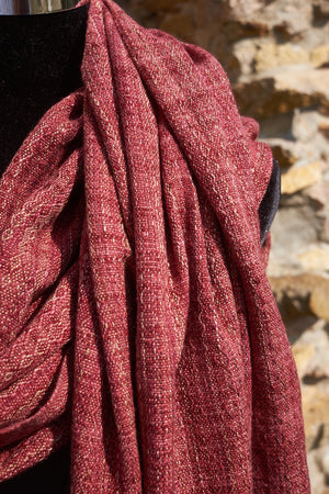 Hibiscus - in Silk, Cashmere, and more