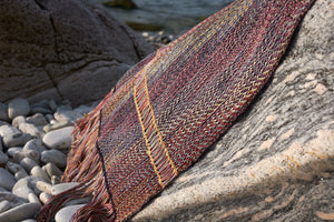 "Blanket Wrap / Shawl ""Iridescence"""