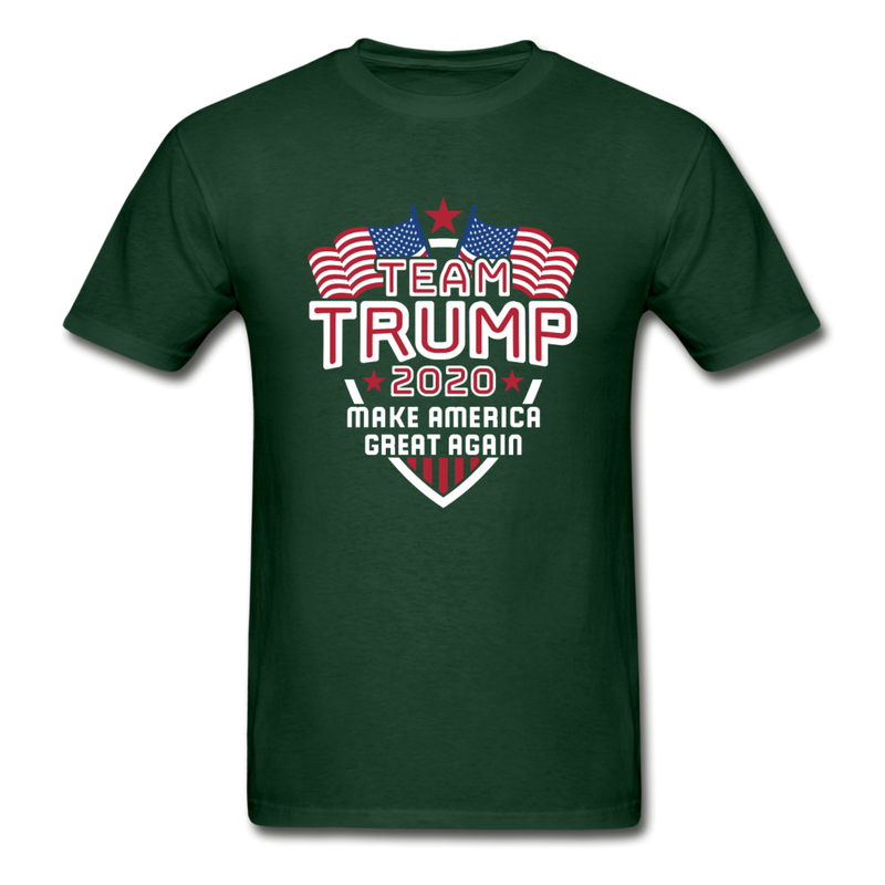 Team Trump 2020 Make America Great Again T-Shirt - black