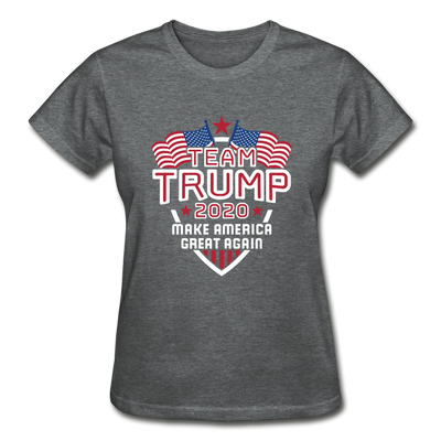 Team Trump 2020 Make America Great Again Women's T-Shirt - deep heather