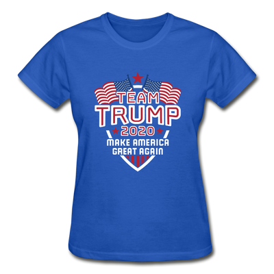 Team Trump 2020 Make America Great Again Women's T-Shirt - royal blue