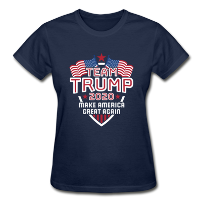 Team Trump 2020 Make America Great Again Women's T-Shirt - navy
