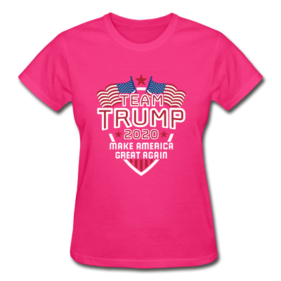 Team Trump 2020 Make America Great Again Women's T-Shirt - fuchsia