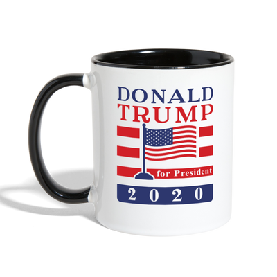 Donald Trump 2020 Ceramic Coffee Mug - white/black