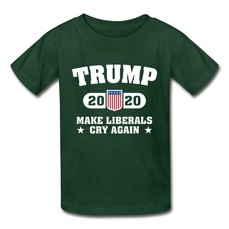 Trump 2020 Make Liberals Cry Again Youth T-Shirt - black