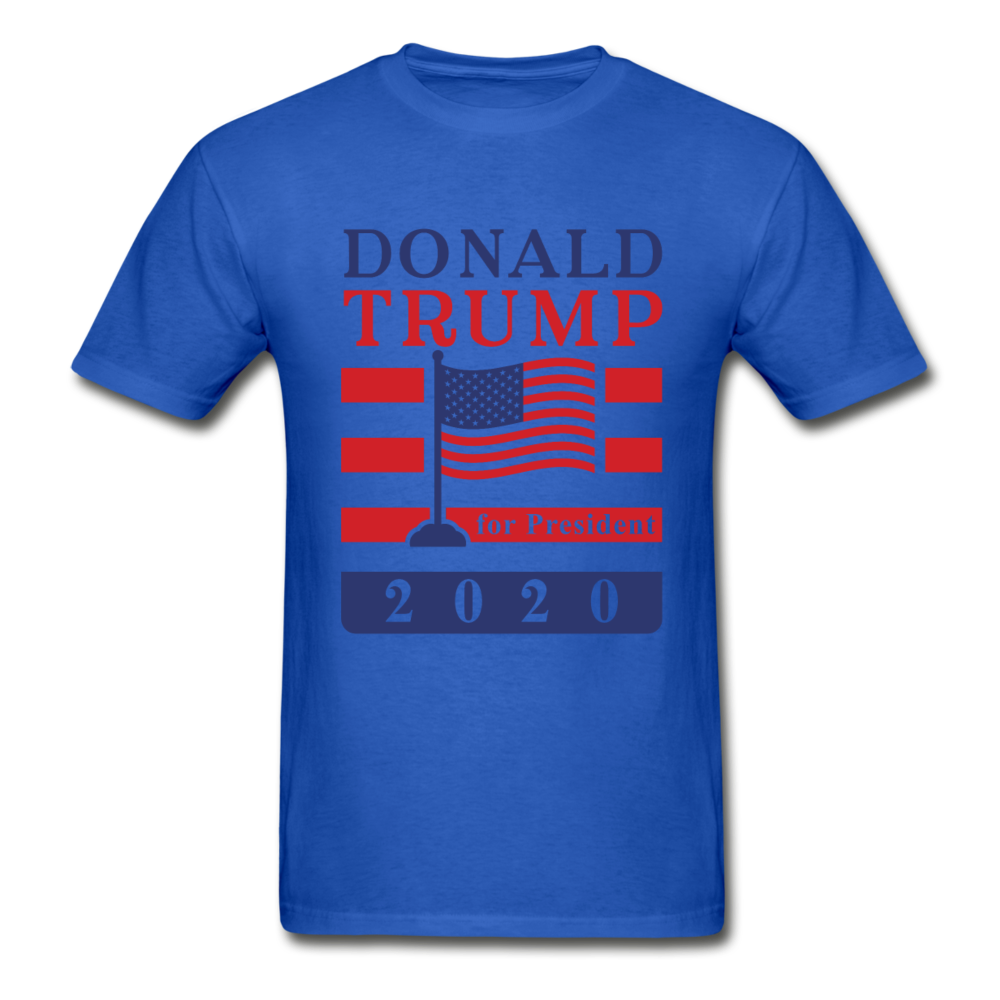Donald Trump for President 2020 T-Shirt - royal blue