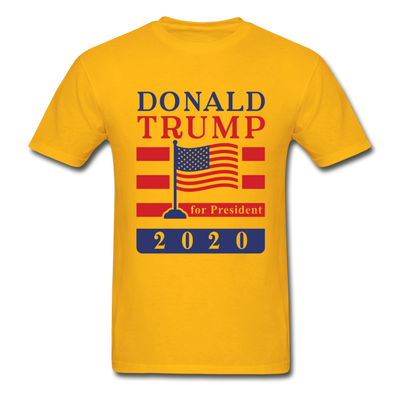 Donald Trump for President 2020 T-Shirt - gold