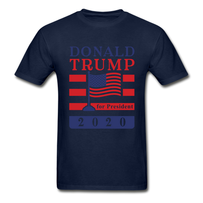 Donald Trump for President 2020 T-Shirt - navy