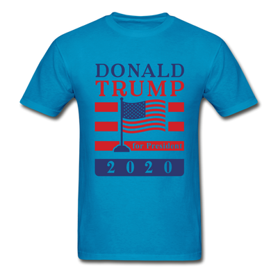 Donald Trump for President 2020 T-Shirt - turquoise