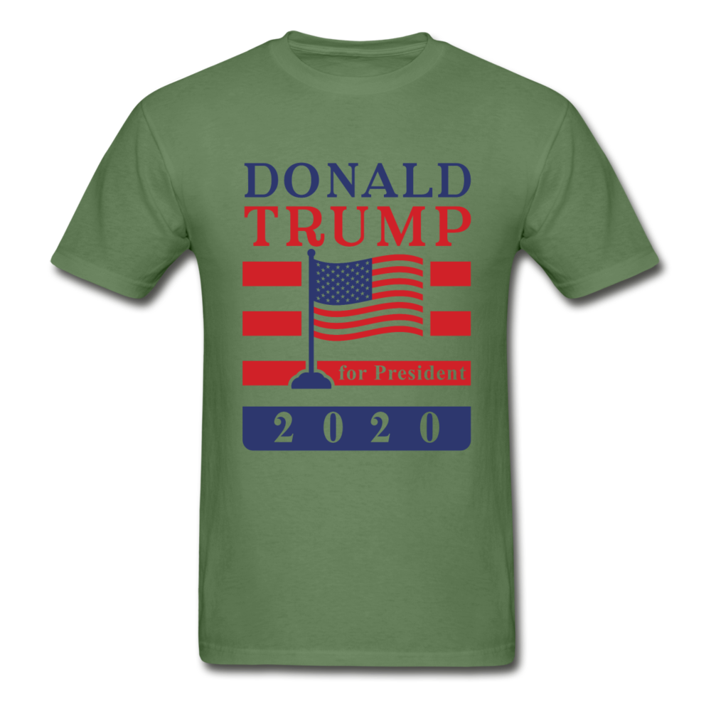 Donald Trump for President 2020 T-Shirt - military green
