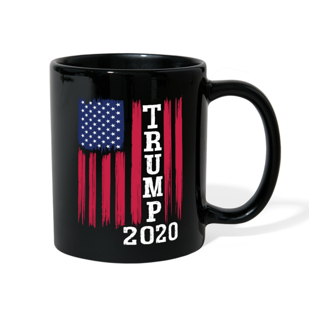 Trump 2020 Flag Coffee Mug - black
