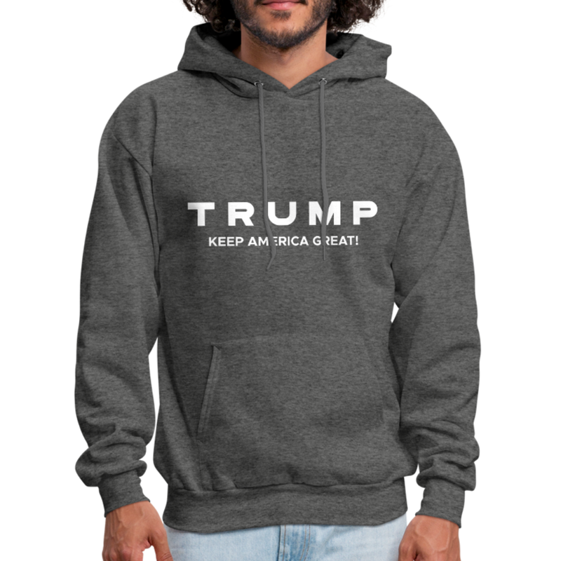 Trump Keep America Great Hoodie - red