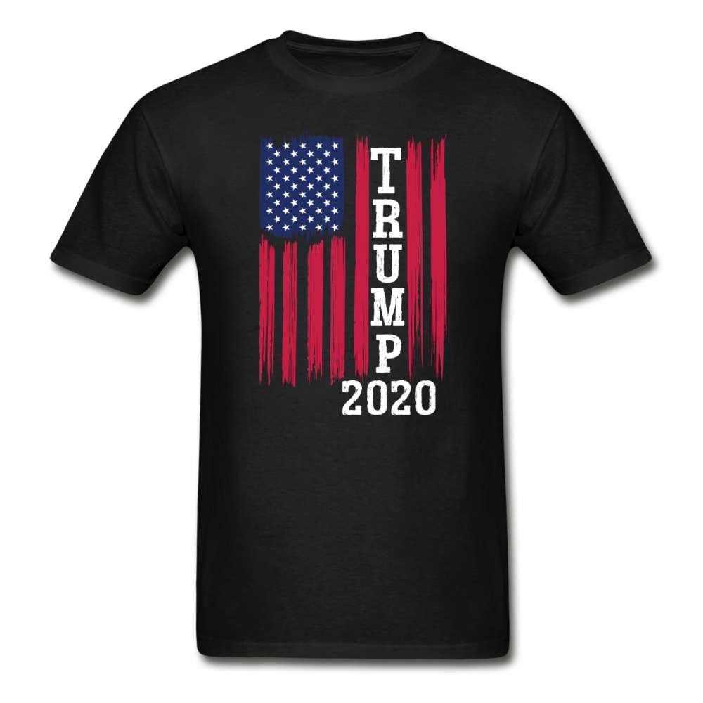 Trump 2020 Flag T-Shirt - black