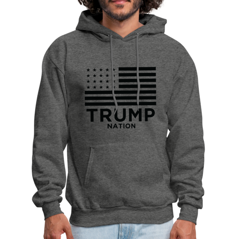Trump Nation Hoodie - red