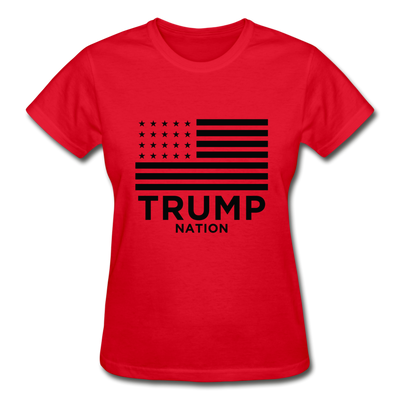 Trump Nation Women's T-Shirt - red