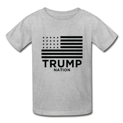 Trump Nation T-Shirt - heather gray