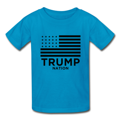 Trump Nation T-Shirt - turquoise