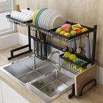 Stainless Steel Kitchen Dish Drying Rack - Large Dish Drainer