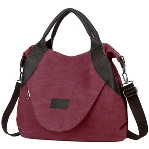 Vintage Canvas Bag for Women