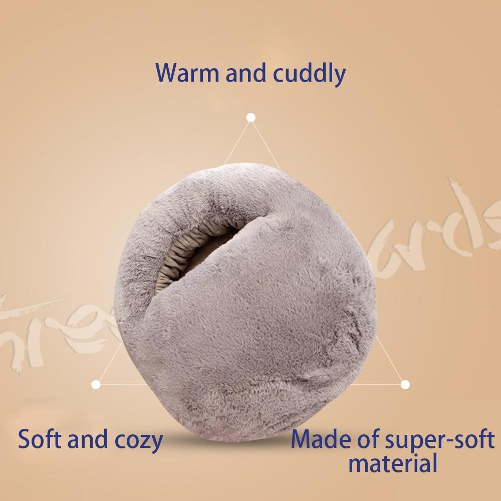 Plush Electric Foot Warmer