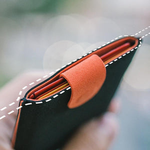 Multilayer Pull Tab Card Holder