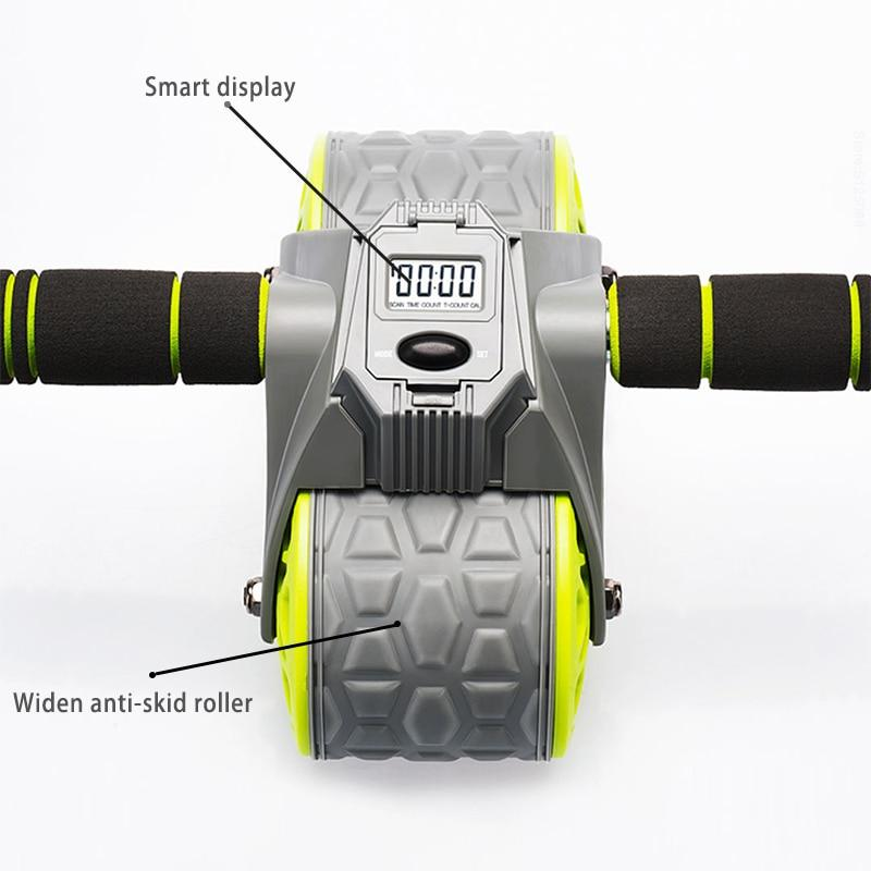Intelligent Counting Ab Wheel Trainer