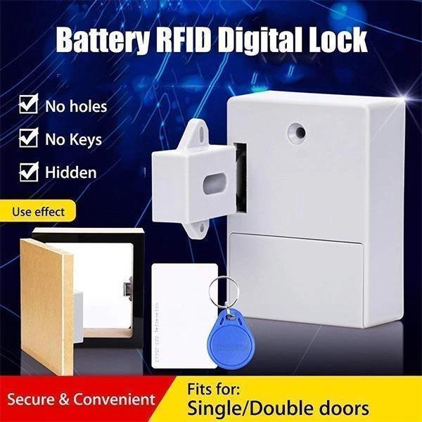Electronic Cabinet Lock Kit with Sensor
