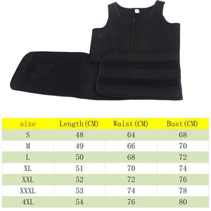 Body Sweat Vest Body Shaper for Women