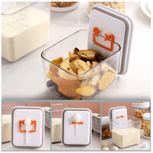 Push N Pop Multifunction Airtight Food Container