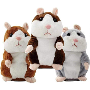 Plush Talking Hamster Toy