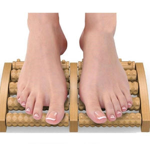Dual Roller Foot Massager